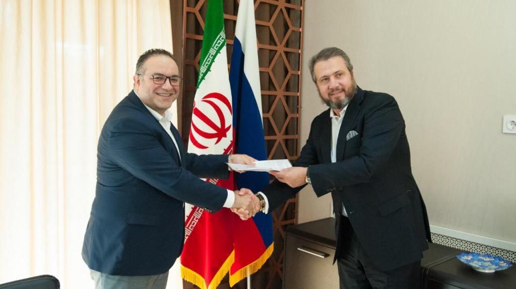 افتتاح دفتر نمایندگی اتاق مشترک روسیه و ایران در سرای تجاری ایرانیان در استراخان